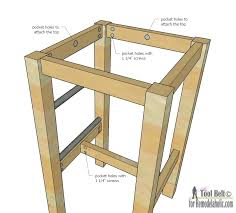 wood bar plans stools building bar plans for wooden build your racer with backs stool large wood bar plans