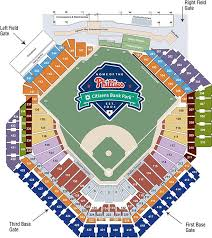 Citizen Bank Park Seating Chart Phillies Tickets Twins