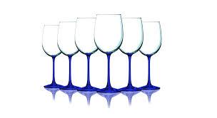 cobalt blue wine glasses dollar tree whole