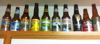 How To Decorate Beer Bottles Thirsty Thursday Beer Bottle Decor 6