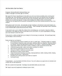 Nanny Job Description Example Resume Sample Nanny Nanny Job ...