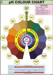 Ph Scale Color Chart Ph Scale Color Chart N C Kansil Sons Kansil Bhawan