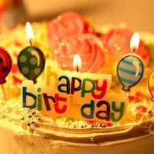 Generic Happy Birthday Birthday Cake Decoration Candles Multicolor