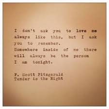 f scott fitzgerald love quote