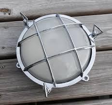 Chrome Bulkhead Light