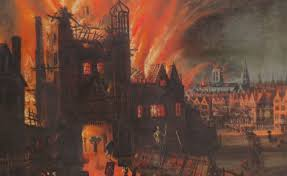 ofcourse city council took some precaution in order to prevent disasters like these and formed the first fire insurance company called fire office and