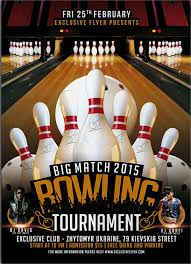 Bowling Event Flyer 44 Printable Event Flyers Word Psd Ai Indesign Free