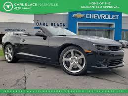 chevy camaro 2014 black. Plain Chevy PreOwned 2014 Chevrolet Camaro SS Throughout Chevy Black E