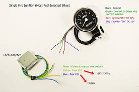 baron s bullet tachometer installation n motorcycle forum tach wiring jpg