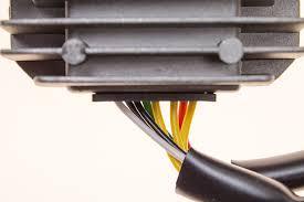 regulator rectifier for honda cbx cbxf cb cbc cbsc cb650c cb650sc rr19 cables in to reg rec