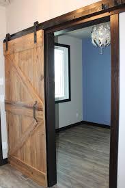 light wood reclaimed classic sliding barn door rustic style door unstained douglas fir finish