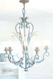 beach house chandelier a rustic beach house chandelier makeover the wicker house throughout beach chandelier view 1 beach cottage style chandeliers