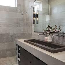 Modern interior design bathroom Apartment Example Of Midsized Minimalist Master Gray Tile Gray Floor Bathroom Design In Miami Houzz 75 Most Popular Modern Bathroom Design Ideas For 2019 Stylish