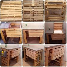 Wooden pallets furniture Rustic Grill Stand Wood Pallet Furniture The Jackson Sun Make Grill Stand Out Of Wood Pallet Habitat Restore