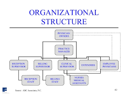 Doctor S Office Organizational Chart Medical Practice Business Consulting Presentation