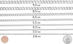 Inspirational Necklace Thickness Chart Mm Michaelkorsph Me