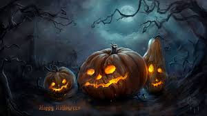 Scary Pumpkin Painting Free Scary Halloween Backgrounds Wallpaper Collection 2014