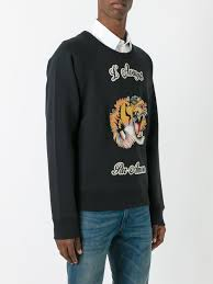 gucci sweater. picture of gucci | crewneck tiger sweatshirt gucci sweater