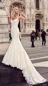 eddy k milano bridal 2017 sleeveless sweetheart lace mermaid