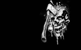 Scary Skull Wallpapers Hd Wallpaper Cave