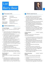 Project Manager Journalist Cv Sample Resume Samples Career