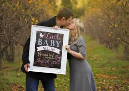Adorable Ways To Announce Your Pregnancy