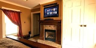 mounting tv in brick fireplace on a above into to chimney f mounting tv in brick fireplace