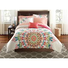 colorful medallion comforter sets king for lovely bedroom decoration ideas