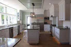 Light Grey Kitchen Walls With Oak Cabinets Gray Kitchen Cabinets As Neutral Furniture To Decorate