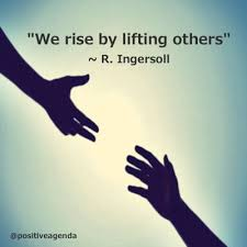 Quotes On Helping Others Gorgeous We Rise By Lifting Others Quote Positive Quotes Pinterest