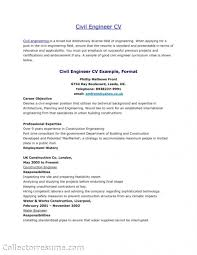 Career Objective For Resume For Civil Engineer Resignation Letter Format For Civil Engineer Fresh Sample Resume 62