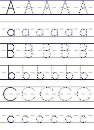 Writing The Alphabet Worksheet - Checks Worksheet