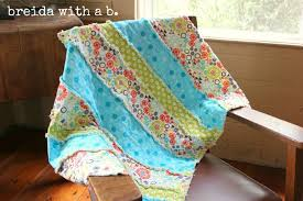 Pinspired and Produced #14 {making a baby rag quilt} - breida with ... & baby rag quilt Adamdwight.com
