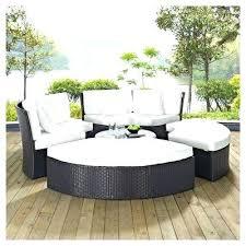 circular outdoor sectional circular outdoor couch convene circular outdoor patio daybed set espresso white daybed sets
