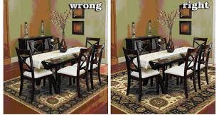 rug under dining table size stylish nice design area inspiring ideas room for 9
