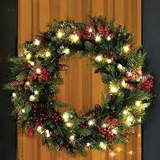 large wreaths outdoors summer