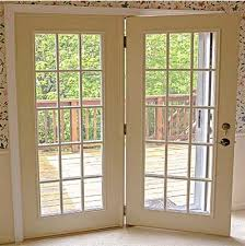 Modern Hinged Patio Doors Throughout Decorating Ideas