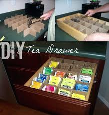 Organizing Drawers Best Tea Drawers Drawer Organizer Organizing Tips Artaboveallco
