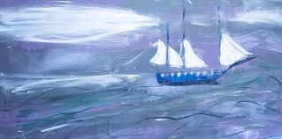 Sailing Painting by Jan McGinnis