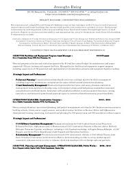 Facility Manager Resume Samples Construction Operation Manager Resume Maintenance Manager Resume