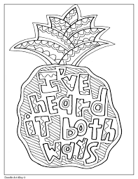 One of the great things about coloring christian coloring pages for adults is that it does not these artists are providing you something very lovely for free, so if you download their coloring pages what a neat idea, printable coloring pages for adults! Quote Coloring Pages Doodle Art Alley