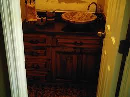 Pine Bathroom Cabinet Rustic Pine Bathroom Vanity Wood Bathroom Vanity And Rustic Sink