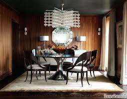 dining pendant lights chandelier table modern room lighting ideas home improvement appealing wood paneled r
