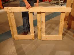 how to make a fold down workbench
