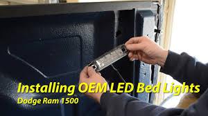 2016 Ram 2500 Led Bed Lighting Installing Oem Led Bed Lights Ram 1500
