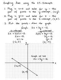 graphing lines using intercepts ax by c equations in slope intercept graphing equations in slope intercept