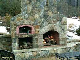 best outdoor fireplace pizza oven with insert of