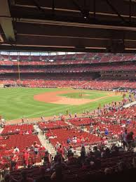 Busch Stadium Section Champions Club 8 Home Of St Louis