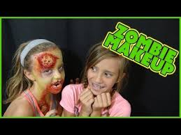 makeup tutorial the walking dead zombie makeup monday ep 9 smellybellytv