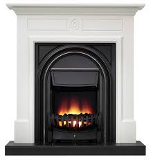 be modern dalston flat against wall electric fire suite rooms diy at b q